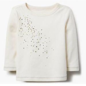 Gymboree Baby Long Sleeve Holiday Sparkle Tee NWT
